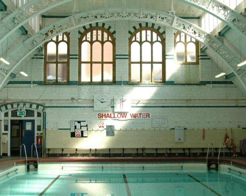 The No.2 pool at Moseley Road Baths, still open for swimming