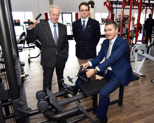 Left to right: former club owners Tony Bird and Anthony Bird with Bannatyne chief executive Justin Musgrove / Bannatyne Group