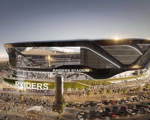 A groundbreaking ceremony took place in Las Vegas last night for the new home of the Oakland Raiders