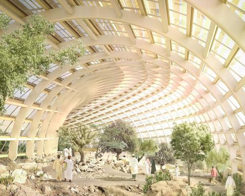The Northern Biome of the Oman Botanic Garden / Arup/Grimshaw