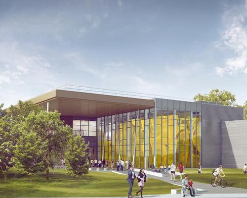 The design of the new hub includes green spaces to encourage healthy living / University of Warwick