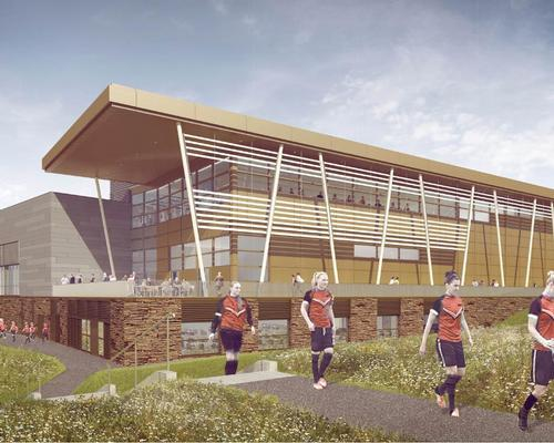 The new sports and wellness hub is designed for the public and staff as well as the university's sports teams / University of Warwick