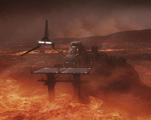 A still from the upcoming Star Wars: Secrets of the Empire VR experience / Continuum Attractions/The Void