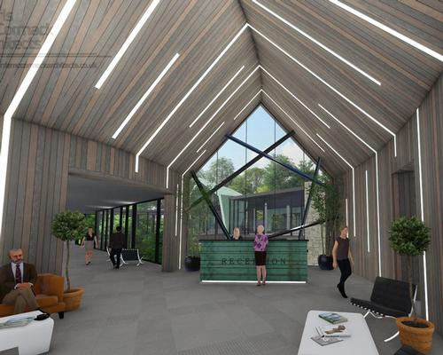 England's Gisborough Hall plans woodland spa