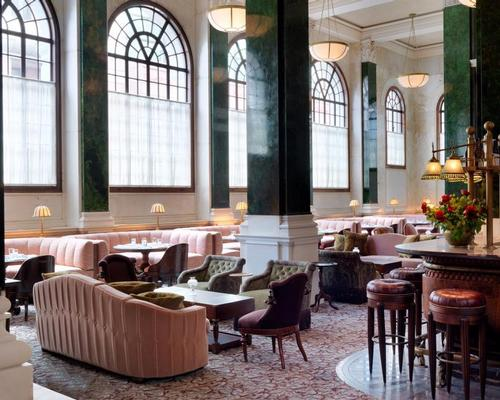 The creative team have transformed the Grade I listed former Midland Bank Building to include 252 bedrooms, nine restaurants, a member's club and extensive health and leisure facilities / The Ned London