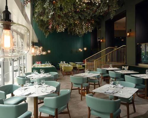The nine-month project saw the hotel's public areas given a makeover