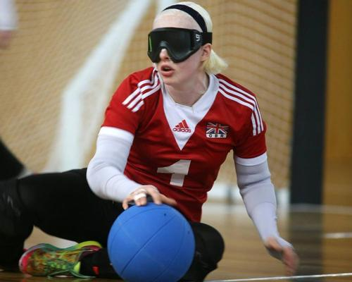 Team GB goalball star named a Woman of the Future
