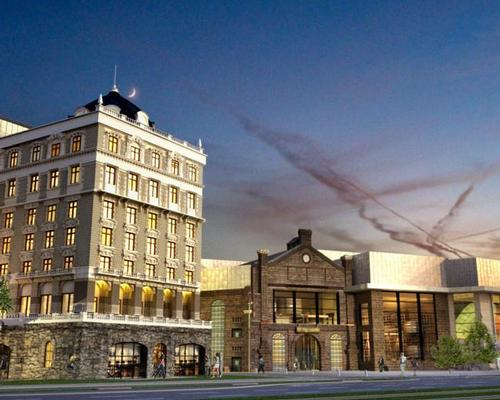 The 453-bedroom hotel is being designed by Swedish architectural firm Wingårdhs / Liseberg