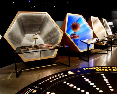 The three galleries include 19 integrated interactive and media displays and a number of large-scale exhibits / GSM Project