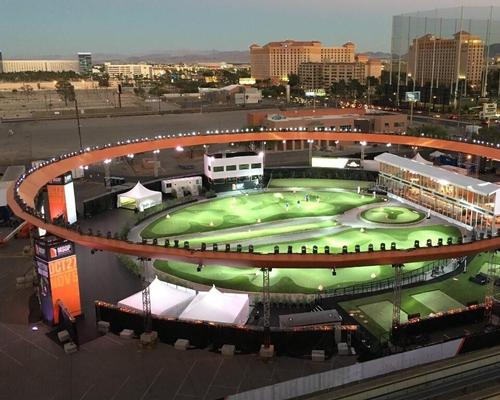 Populous and golf course architects Nicklaus Design – founded by golfing icon Jack Nicklaus – designed the temporary venue for the event / MSOP