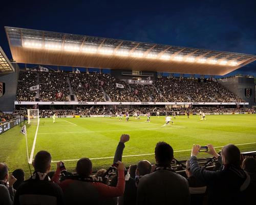 The Riverside Stand itself will be rebuilt with more seats, increasing the stadium's total capacity by 4,300 to 30,000 / Populous