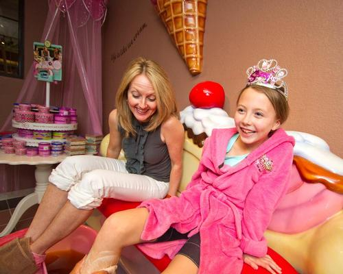 Scooops children's spa is an activity available at Great Wolf Resorts