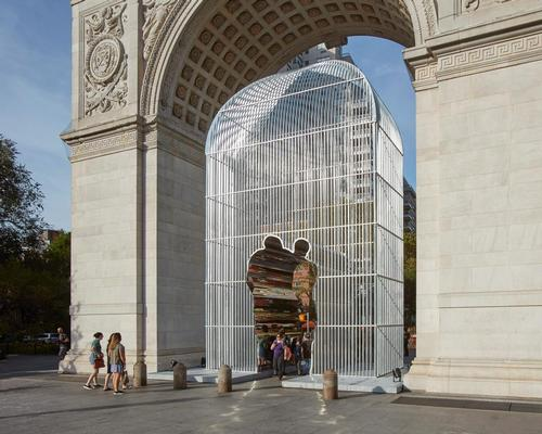 Good Fences Make Good Neighbors by Ai Weiwei launched in New York in October 2017 and runs until February next year / Jason Wyche