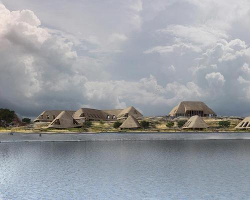 Ingenhoven Architects are overseeing the creation of the 68-room project, which will be constructed on the site of a former officer's' accommodation block on the island of Sylt / Ingenhoven Architects