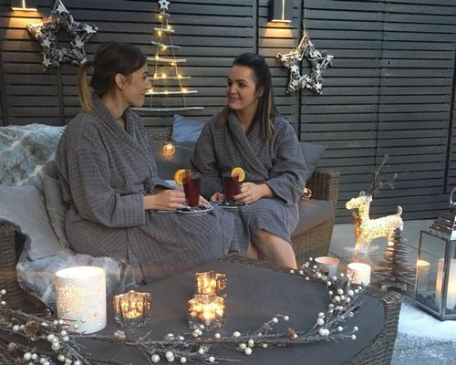 Titanic Spa introduces outdoor snow garden for festive period