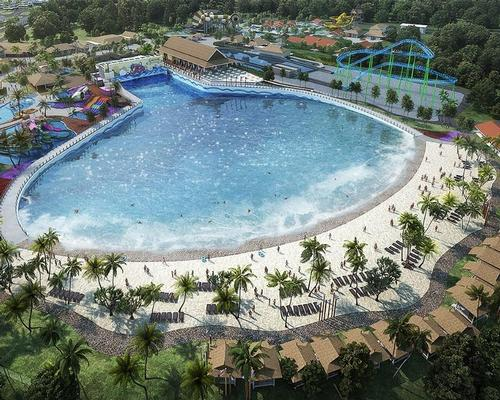 Huge waterpark to crown Malaysia's luxury mixed-use resort