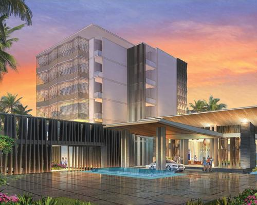 Design firms SB Architects, EDSA and HBA have been hand-selected to create 'a fluid transition between indoor and outdoor spaces' at the new hotel and resort / Hilton