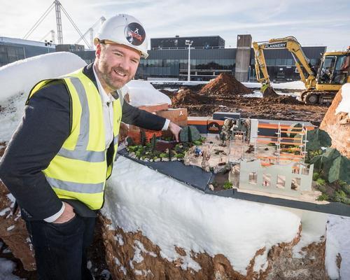 Work begins on Merlin's £20m Bear Grylls attraction