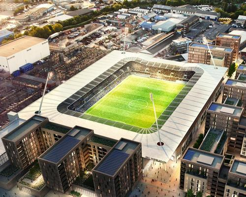 As well as a new stadium, the approved plans include residential developments and new leisure facilities / AFC Wimbledon