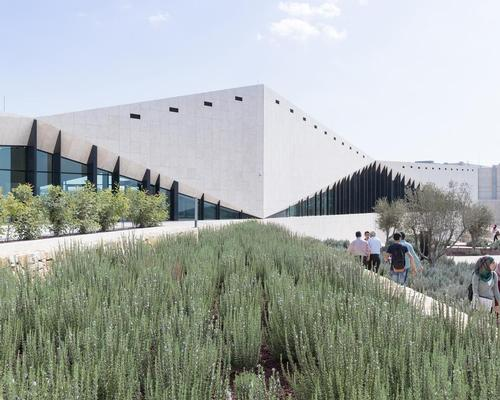 The Palestinian Museum by heneghan peng architects with Arabtech Jardaneh