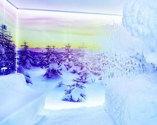 Nature-focused spa at Hotel Quelle introduces first snow sauna for the Alps