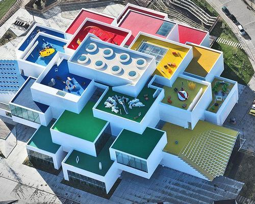 The Lego House by Bjarke Ingels Group