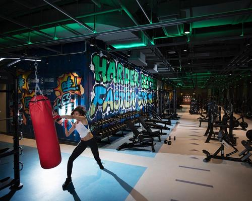 Trainyard Gym in Beijing by Stickman Design