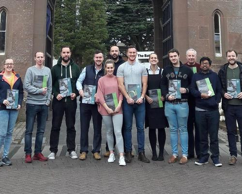 Mental health first aid trainees at Lilleshall National Sports and Conferencing Centre