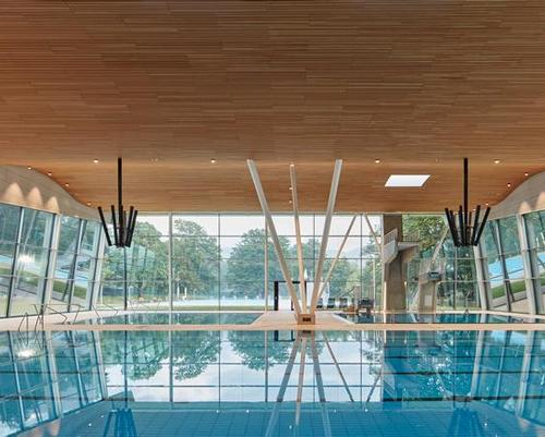 Aquatics and sauna centre opens in Germany's Black Forest