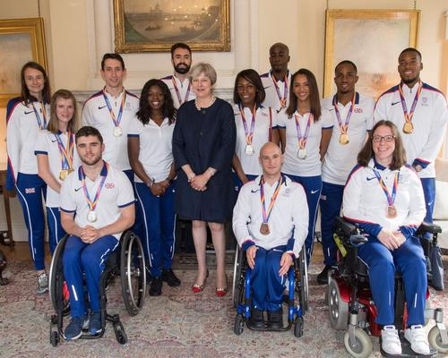After the record-breaking events, prime minister Theresa May hosted a reception for British athletes, coaches and staff involved in the World Athletics and Para Athletics Championships