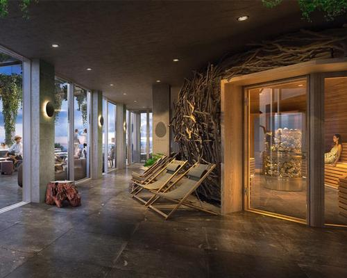 The Nest is designed to offer a place for relaxation, re-energising and exercise