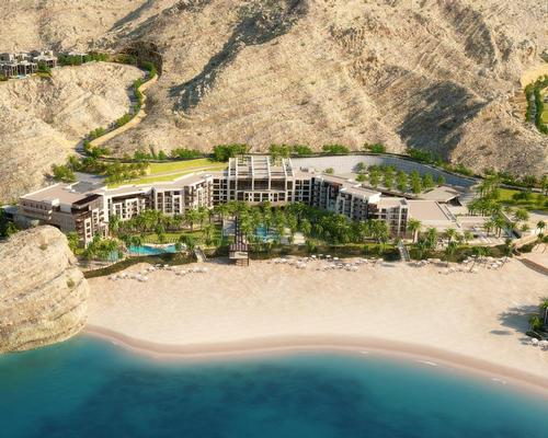 Jumeirah Muscat Bay, which will include a 1,200sq m Talise Spa, is among the five new resorts to open in 2018 / Jumeirah Hotel Group