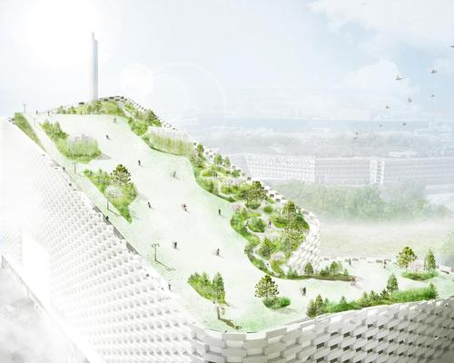 Final design drawings revealed for power plant's rooftop ski slope and park