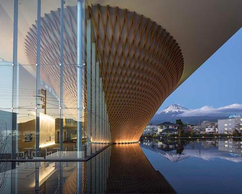 Ban's winning design submission was selected ahead of over 230 rival proposals / Shigeru Ban Architects