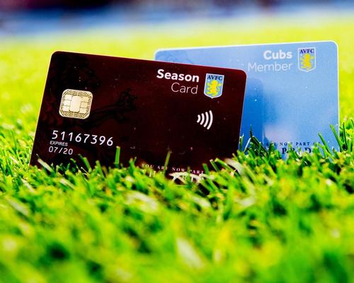 Aston Villa first club to introduce fan payment cards