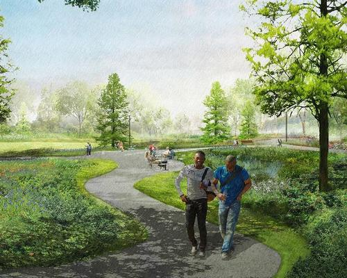 The park will play a role in inspiring the 'leaders of tomorrow', says Obama / The Obama Presidential Center