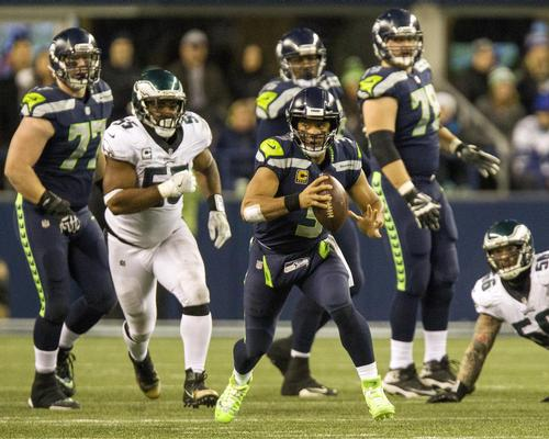 Seattle Seahawks' quarterback Russel Wilson is heading to London to face the Oakland Raiders in Tottenham Hotspurs' new stadium