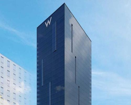 The 27-floor W Osaka has been designed by Tadao Ando / W Hotels Worldwide