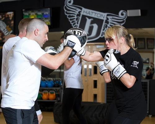 Ricky Hatton's boxing brand partners Myzone to offer fitness training