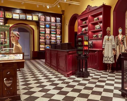 The newly designed space features a gift store selling unique Gucci fashion and homeware items / Gucci
