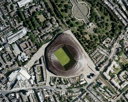 The planning was made more complex by the stadium's location in a busy residential neighbourhood in south-west London