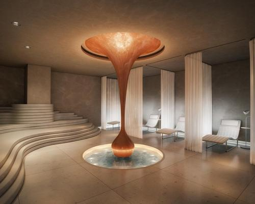 There are two Agua Spas in London, both operating at sbe-owned hotels – Mondrian London (pictured) and The Sanderson