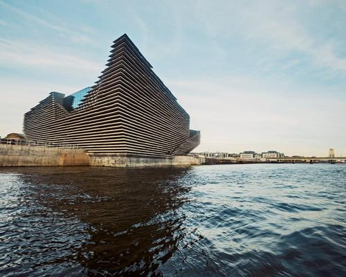 The museum stands at the centre of the £1bn (US$1.3bn, €1.1bn) transformation of the city's waterfront, once part of the docklands / V&A Dundee