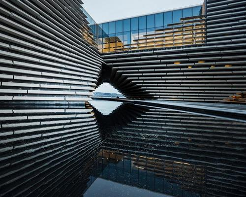 V&A Dundee has been designed to evoke the dramatic cliffs of Scotland's east coast / V&A Dundee