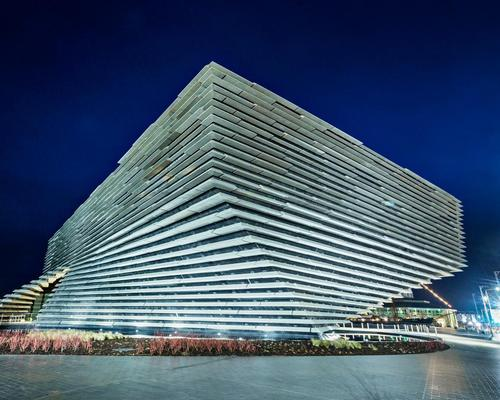 Kengo Kuma created the complex design, which required advanced engineering to complete / V&A Dundee