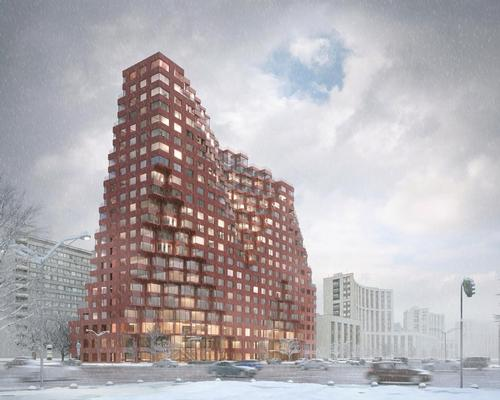 MVRDV embrace Constructivism for mixed-use Moscow 'Silhouette'
