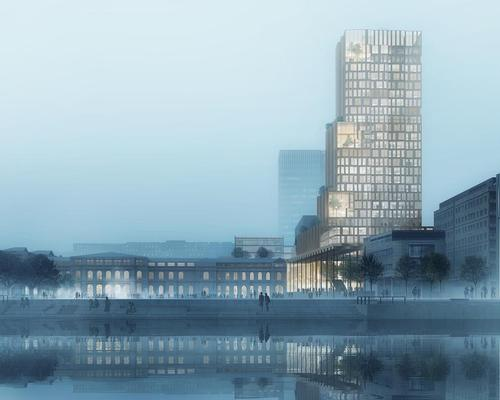 The project, called Fjordporten, will be the largest mixed-use complex in Norway