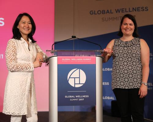 Ophelia Yeung (left) and Katherine Johnston were the senior researchers on the project / Global Wellness Institute