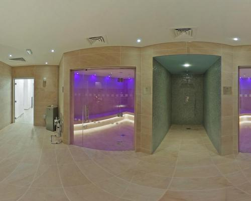 Facilities at the spa include two saunas, a salt Inhalation room and aroma steamroom