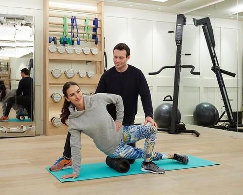 The deal is an extension of an existing partnership, which has seen Bodyism founder James Duigan (pictured) lead fitness sessions on request at The Lanesborough